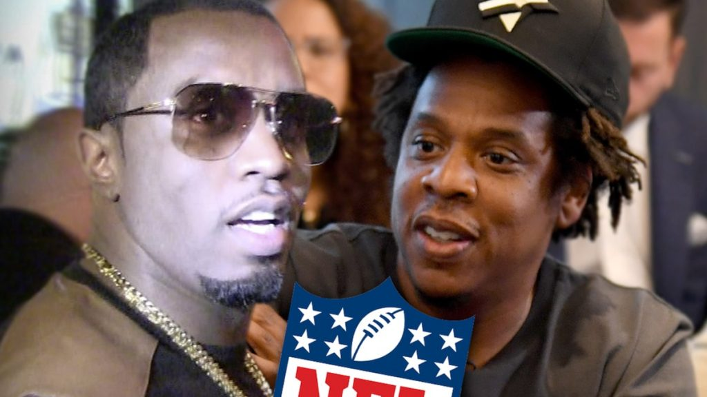 Diddy Defends Jay-Z, Stop Trashing Hov Over NFL Deal!!!