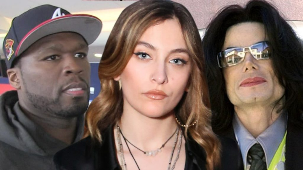 50 Cent Stokes Paris Jackson Feud with Crass MJ Accusers Remark