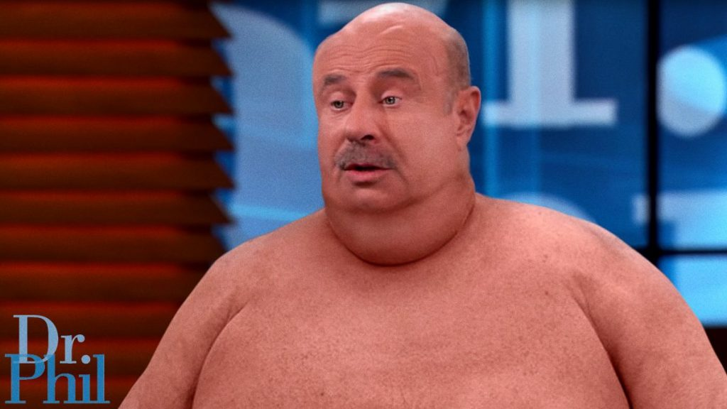 What Was He Going For? Dr. Phil Wore A Fat Suit On Yesterday's Episode Of His Show But Just Sat There Without Addressing Any Body Positivity Stuff